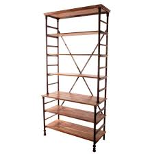 Industrial Pipe Bookcase Pipe Works Reclaimed Wood Industrial Pipe Tall Bookcase Kathy