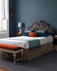 Green Bedroom Wall What Color Bedspread Blue Rooms Martha Stewart