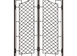 stimulating metal trellis on fence tags trellis metal landscape