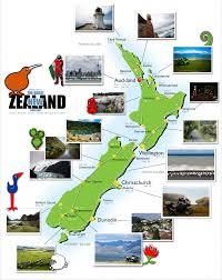 New Zealand Map New Zealand Tourist Map Travel Map Of New Zealand