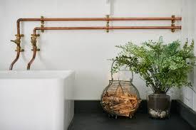 kitchen faucet copper pipes kitchen design