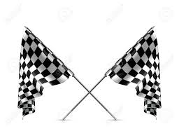 Checkered Flag Eps Two Crossed Checkered Flags Royalty Free Cliparts Vectors And