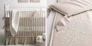 Baby Nursery Bedding European Embroidered Trellis Nursery Bedding Collection Rh Baby