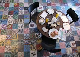 Victorian Mosaic Floor Tiles 25 Creative Patchwork Tile Ideas Full Of Color And Pattern