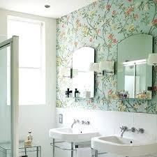 Bathroom Wallpaper Modern Wallpaper For Bathroom Editors Picks Our Favorite Blue Bathrooms