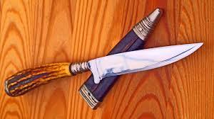 Antique Kitchen Knives Antiker Nicker Jagdmesser Solingen Sammlung Meisterschmied