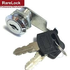 cabinet keyed cam lock rarelock 4 size security drawer cam lock cylinder door mailbox
