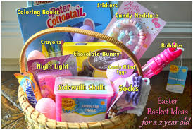 filled easter baskets boys easter basket ideas for a two year logic laughter