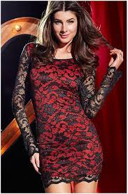 spring winter bodycon dress new casual thrilling beaded lace prom
