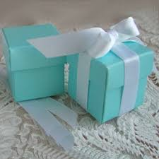 Blue Favor Boxes by Blue 2 Favor Box Modern Accessories And Decor Wedding