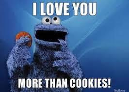 Cookie Meme - kermit frog i love you meme