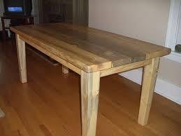 rectangular pine dining table custom beetle kill pine dining table i like the tapered legs on