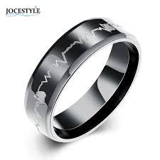 cincin tungsten carbide 6mm titanium steel ring of men black color tungsten