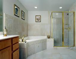 Bathroom With Bath And Shower Basement Bathroom With Tub Shower Interior Design Ideas