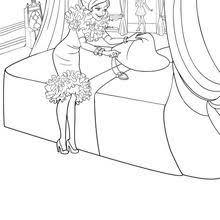 barbie princess charm coloring pages