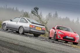 toyota 86 corolla toyota sports cars past and present ae86 vs gt86 toyota