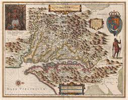 Fau Map Old Historical City County And State Maps Of Virginia