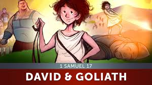 sunday lesson for kids david and goliath 1 samuel 17