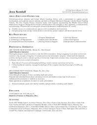 Physical Trainer Resume Resume Work A Gym