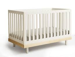 Babies Bedroom Furniture Sets by Bedroom Nice Brown Wood Baby Cache Crib With White Mattress For
