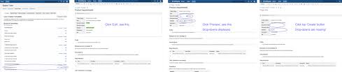 how to simply add drop downs to the confluence u0027pr