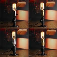 Bedside Reading Lamp E27 Retro Industrial Vintage Edison Bedside Desk Light Socket