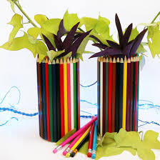 Pencil Vase Pencil Vase Diy Easy Back To Diy Projects For Teachers