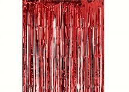 Tassel Curtain Sliver Metallic Foil Party Tassel Curtain Fringe Wall Decoration