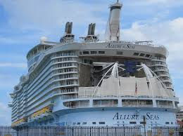 caribbean cruise line cruise law news passenger missing from the allure of the seas cruise ship cruise