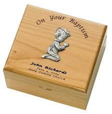 engravable keepsake box boy s baptism maple wood keepsake box from catholic faith store 4