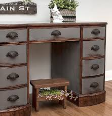 how to refinish a desk how to paint furniture without sanding salvaged inspirations