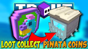 how to loot collect pinata coins trove pinata invader event