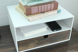 Charging Station Shelf Bedside Charging Station Diy Playbook