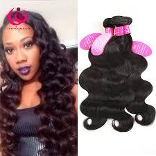 Really Cheap Human Hair Extensions by 3bundles Virgin Human Hair Malaysian Body Wave Wow Queen Hair