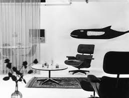 vitra an eames lounge chair in fabric really