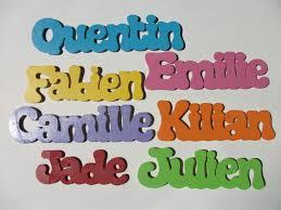 prenom en bois pour chambre les prénoms en bois boutique en ligne