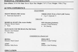 Talent Resume Examples by Theater Resume Examples Headshot Resume Sarah Elizabeth Powell