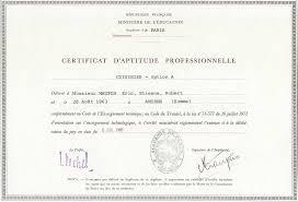 diplome cap cuisine professional and diplomas