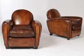 Club Chair Charm Of Classic Leather Club Chair The Furnitures Antique Leather