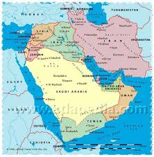 political map of israel syria iran map major tourist attractions maps