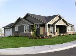 one craftsman style home plans baby nursery 2 craftsman style homes one ranch style
