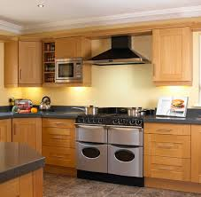 Kitchen Cabinets Oak Modern Makeover And Decorations Ideas Oak Shaker Kitchen