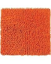 Orange Bathroom Rugs by Huge Deal On Loopy Chenille Bath Rug White Orange 24