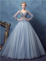 Ball Dresses Long Sleeves Ball Gown Dresses Style Selections Dresswe Com