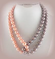 best 25 pearl necklaces ideas on leather pearl