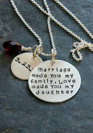 gift for daughter in law marriage made you my family gift from