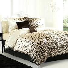 animal print quilts bedding leopard print quilt cover set