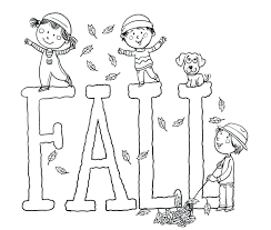 coloring pages for preschoolers pdf first grade kids fall