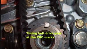 2001 honda civic timing belt tensioner 2001 05 honda civic timing procedure d series engines