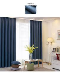 Single Blackout Curtain Blackout Curtains For Bedroom Solid Color Modern Curtain Designs